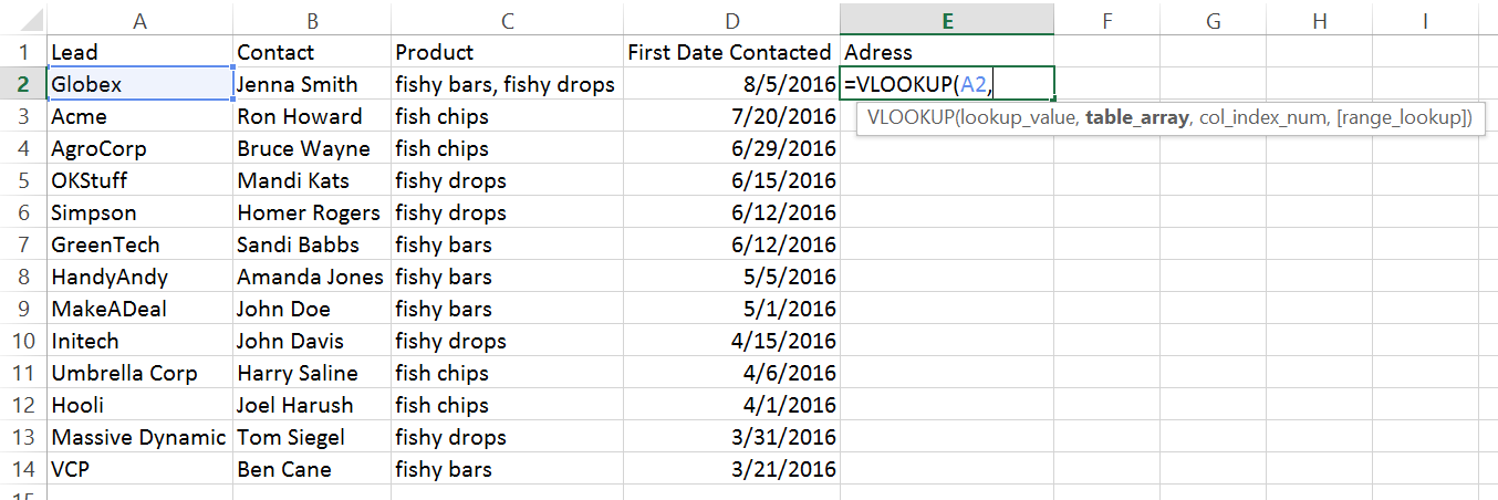 how to use vlookup to add value