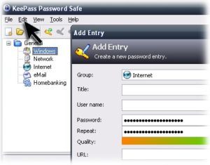 KeePass-Save-Password